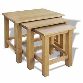 image-Abbot 3 Piece Nest of Tables Marlow Home Co.