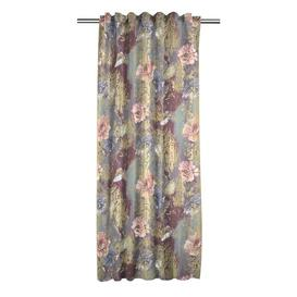 image-Noemi Pencil Pleat Blackout Single Curtain Apelt Colour: Mauve