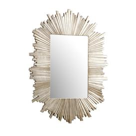 image-Jamarion Sunburst Gold Metal Mirror