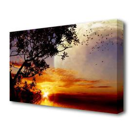 image-'Suns First Light Landscape' Photographic Print on Canvas East Urban Home Size: 81.3 cm H x 121.9 cm W