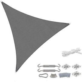 image-Drey 3m x 3m Triangular Shade Sail Sol 72 Outdoor Colour: Anthracite