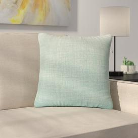 image-Mitre Scatter Cushion with Filling Ebern Designs Size: 43 x 43cm, Colour: Duck Egg