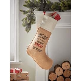image-DIY Personalised Christmas Stocking