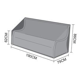 image-Nova Garden Furniture Oyster Black 3 Seater Sofa Cover - PRE ORDER