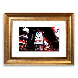image-Tokyo Night Lights - Picture Frame Photograph Print on Paper