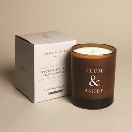 image-Plum and Ashby Candle - Vetiver and Lavender