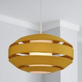 image-Fernely 40cm Oval Ochre Shade Ochre (Yellow)