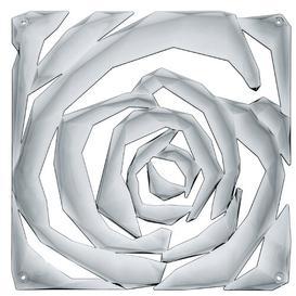 image-Romance 4 Panel Room Divider Koziol Colour: Clear charcoal