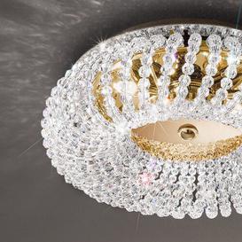 image-Carla 3 Light Ceiling Light Kolarz Colour (Frame): Glossy 24K gold, Farbe (Kristalle): Swarovski rhinestones
