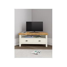 image-Padstow Ivory Corner TV Unit