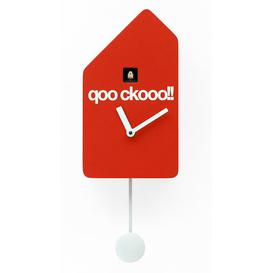 image-Beckmann Cuckoo Clock Ebern Designs Colour: Red