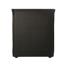 image-Carbon Grey Washed Linen Headboard Cover 90
