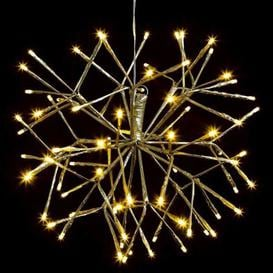 image-80 LED Warm White Outdoor Matte Gold Christmas Decoration Mains 10M