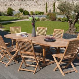 image-Woehler Extendable Teak Dining Table Sol 72 Outdoor