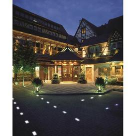 image-Molnar 1 Light LED Path Light Sol 72 Outdoor Size: 7cm H x 8cm W x 7cm D, LED colour: Blue
