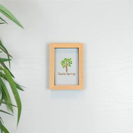 image-Picture Frame Nicola Spring Colour: Beige, Size: 20cm H x 15cm W x 3.5cm D