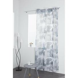 image-Nibbi Eyelet Semi Sheer Curtain Brayden Studio