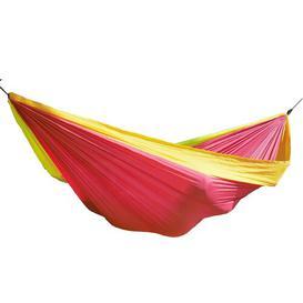 image-Nylon Camping Hammock Freeport Park Colour: Rainbow, Size: 200 cm W x 300 cm D