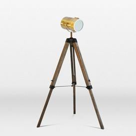 image-Kerman Vintage 150cm Tripod Floor Lamp Borough Wharf