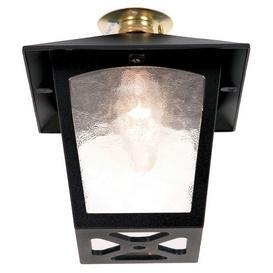 image-Elstead BL6C York exterior, black, flush porch lantern, IP20