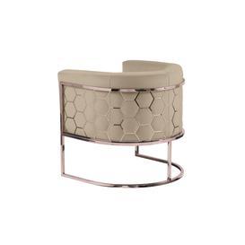 image-Alveare tub chair Copper - Taupe