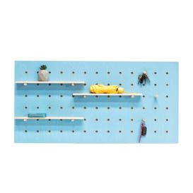 image-Pegboard Key Hook Symple Stuff Colour: Blue