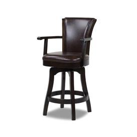 image-Meola Swivel Bar Stool Blue Elephant Seat Height: Bar Stool (31ΓÇ¥ Seat Height)