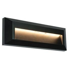 image-Severus landscape 2W LED indirect guide light in black marine grade - ip65 - ik08 - 3000k - 65lm - 85466.
