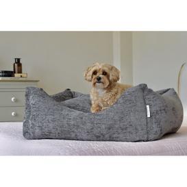 image-Sloane Bed Midnight Grey Large (115cm x 80cm x 30cm)
