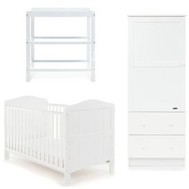 image-Whitby Cot Bed 3 - Piece Nursery Furniture Set