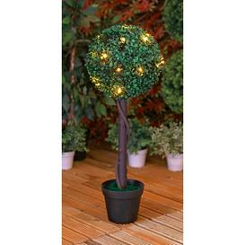 image-Topiary Tree With Solar Lights 70cm Tall