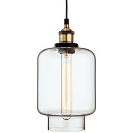 image-Firstlight Modern Vintage Style Glass Ceiling Pendant Light Shade - 3474AB