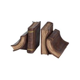 image-Hill Pair of Old Books Bookends-36328
