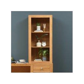 image-Chalford Oak Desk Top Bookcase