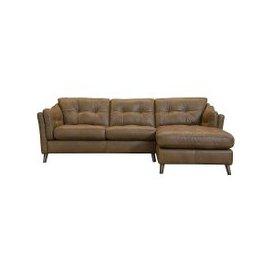 image-Loft Living Corner Chaise Leather Sofa