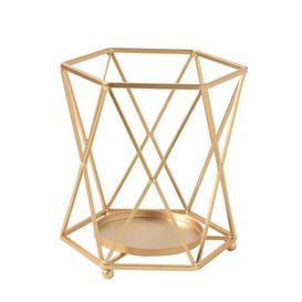 image-Metal Candlestick Fairmont Park Size: 12.5cm H x 10cm W x 11cm D