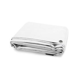 image-Tear Resistant 80g/m┬▓ Tarpaulin Cover WFX Utility Colour: White
