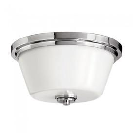 image-HK/AVON/F BATH Avon 2 Light Bathroom Polished Chrome Flush Mount  Light
