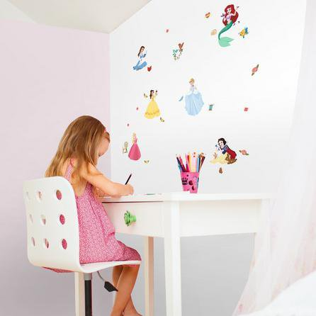 image-Princess Wall Stickers Blue/Yellow/Green/Pink