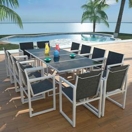 image-Bane 12 Seater Dining Set Dakota Fields