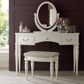 image-Ex-Display Bentley Designs Bordeaux Ivory Painted Dressing Table Set