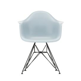 image-Vitra Eames DAR Armchair New Height Ice Grey Dark Legs