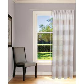 image-Deanda Pencil Pleat Semi Sheer Curtain Beachcrest Home