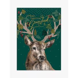 image-Art File Stag Grandad Christmas Card