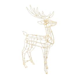 image-A by AMARA Christmas - Dewdrop Light Up Reindeer - Warm White