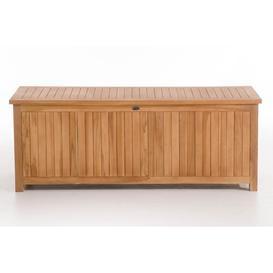 image-Wooden Cushion Bin WFX Utility Size: 63cm H x 140cm W x 77cm D