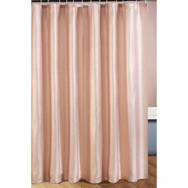 image-Metallic Shower Curtain