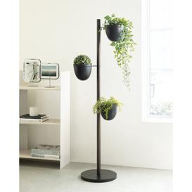 image-Floristand Wood Vertical Planter Umbra