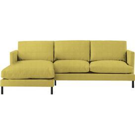 image-Yeomans Chaise Sleeper Corner Sofa Bed Latitude Run Upholstery Colour: Ochre, Orientation: Left Hand Facing