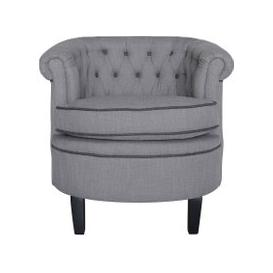 image-Lily Grey Occasional Chair